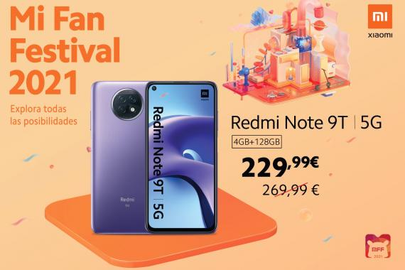 OFERTA REDMI NOTE 9T